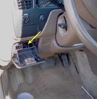 Toyota Camry Obd Connector Location on toyota camry fuse box