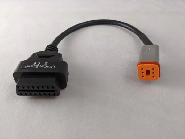 Adapterkabel OBD für Harley-Davidson Motorrad 6/16 Pol