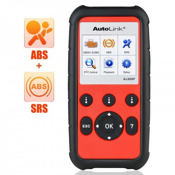 AUTEL AutoLink AL609P mit ABS und Airbag Diagnose