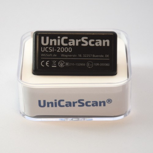 UniCarScan UCSI-2000 OBD Diagnoseadapter