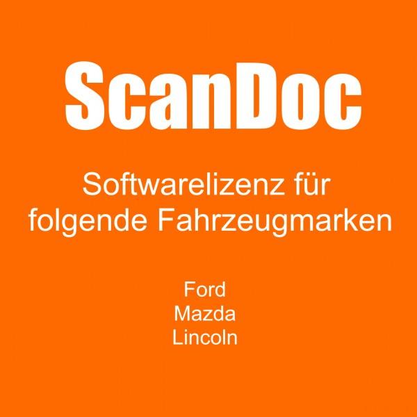 Diagnosesoftware für FORD, MAZDA und LINCOLN