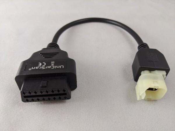 Adapterkabel OBD für Honda Motorrad 4/16 Pol-Copy