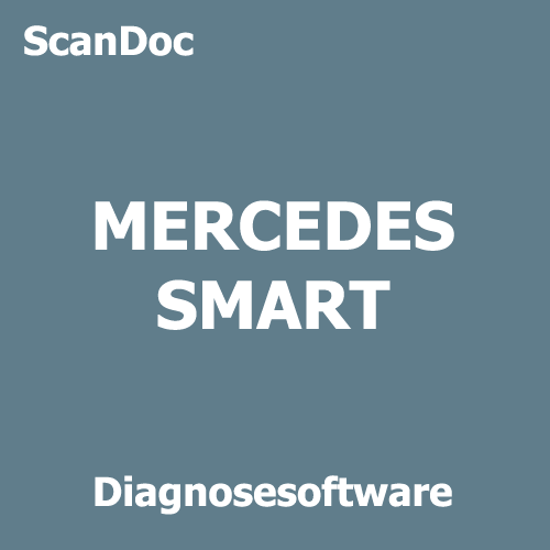Diagnosesoftware für MERCEDES und SMART