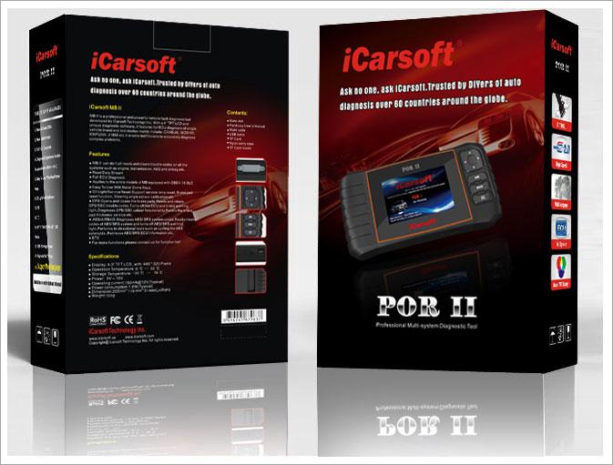 icarsoft por ii f r porsche obd diagnoseger t icarsoft. Black Bedroom Furniture Sets. Home Design Ideas