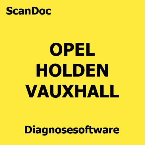 Kfz Diagnosesoftware Opel