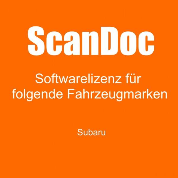 Diagnosesoftware für SUBARU