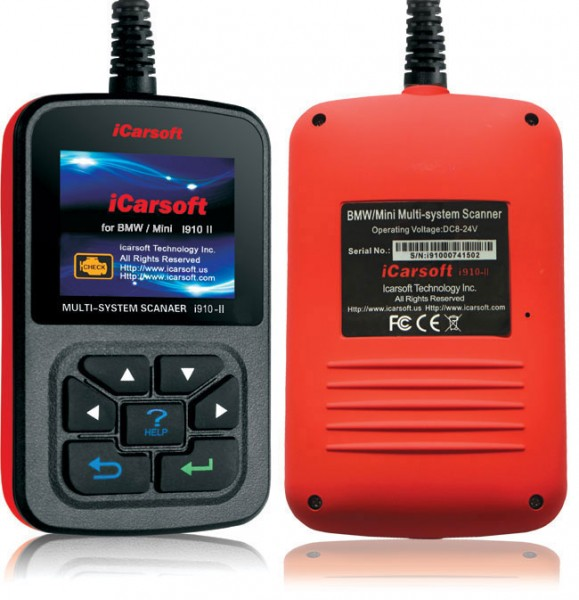 iCarsoft i910 OBD Diagnosegerät BMW Mini