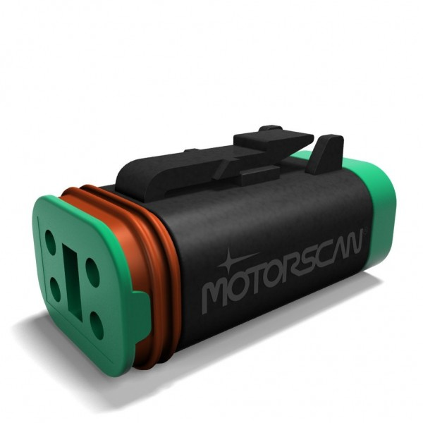 MotorScan Diagnoseadapter für Harley-Davidson incl. App für Android und iPhone für 4-Pin Diagnosebuchse