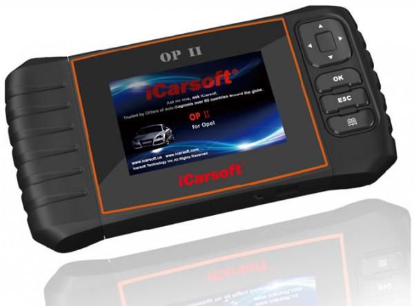 iCarsoft OP II für Opel OBD Diagnosegerät