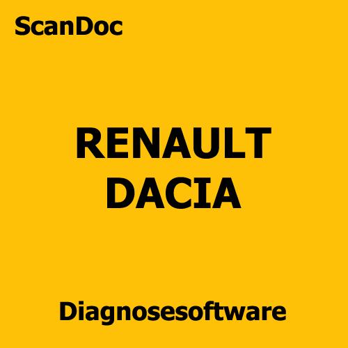 Kfz Diagnosesoftware Renault Dacia